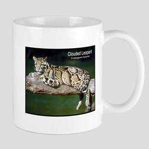Clouded Leopard Photo Mug