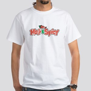 Hot & Spicy, White T-Shirt