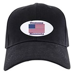 Owatonna US Flag Black Cap
