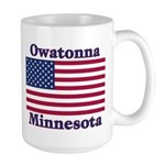 Owatonna US Flag Large Mug