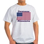 Owatonna US Flag Light T-Shirt