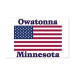Owatonna US Flag Mini Poster Print