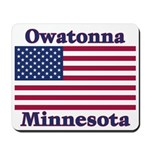 Owatonna US Flag Mousepad