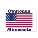 Owatonna US Flag Postcards (Package of 8)