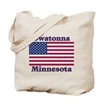 Owatonna US Flag Tote Bag