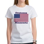 Owatonna US Flag Women's T-Shirt