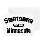 Owatonna Established 1854 Greeting Cards (Pk of 20