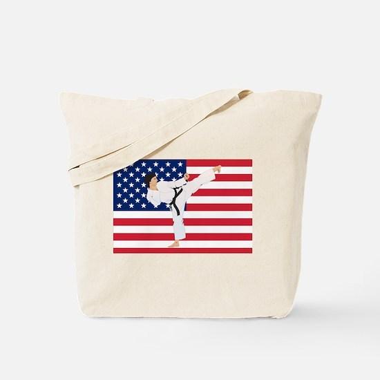 Karate Tote Bag