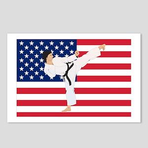 Karate Postcards (Package of 8)