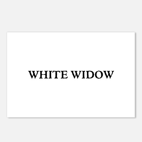White Widow Postcards (Package of 8)