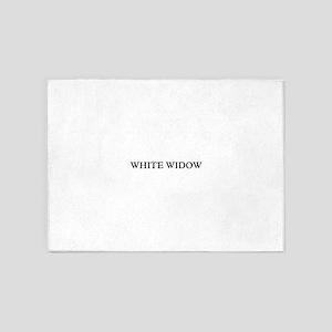 White Widow 5'x7'Area Rug