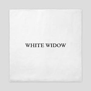 White Widow Queen Duvet