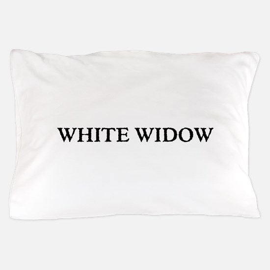 White Widow Pillow Case