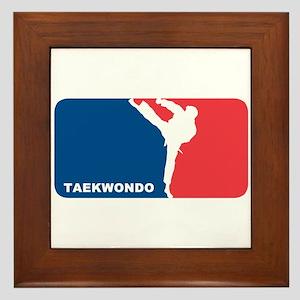 Taekwondo Framed Tile