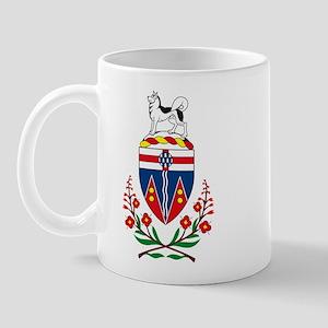 Yukon Coat of Arms Mug