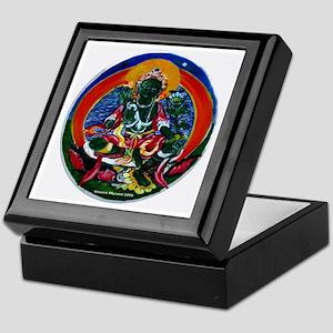 Green Tara Buddhist Keepsake Box
