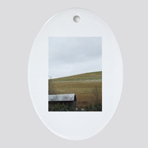 Gil Warzecha - Travel Ornament (Oval)