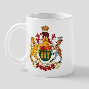 Saskatewan Coat of Arms Mug