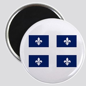 "Quebec Flag 2.25"" Magnet (10 pack)"