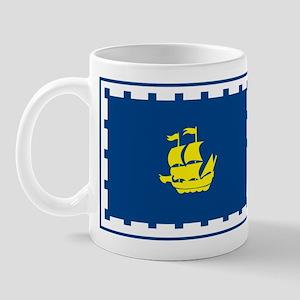 Quebec City Flag Mug
