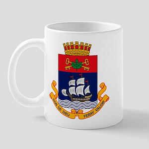 Quebec City Coat of Arms Mug