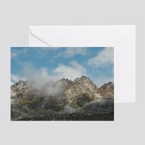 Jagged Peaks Greeting Cards (Pk of 10)