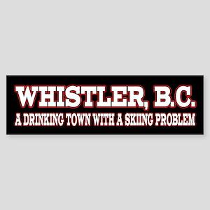 Whistler B.C. Sticker (Bumper)