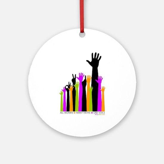 Hands: Ornament (Round)