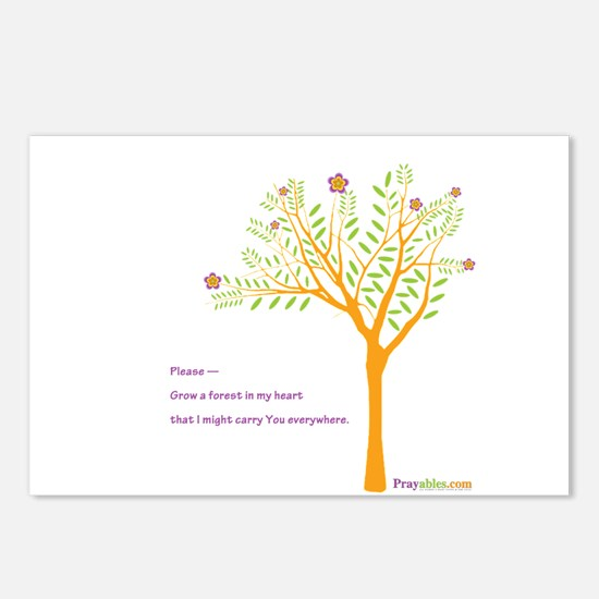 Tree: Postcards (Package of 8)