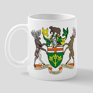 Ontario Coat of Arms Mug