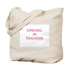 Cowgirl in Training Tote Bag