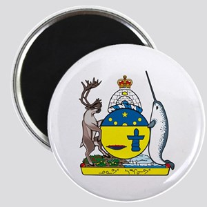 "Nunavut Coat of Arms 2.25"" Magnet (10 pack)"