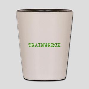Trainwreck Shot Glass