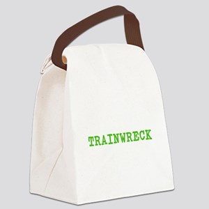 Trainwreck Canvas Lunch Bag