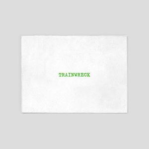 Trainwreck 5'x7'Area Rug