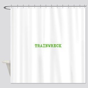 Trainwreck Shower Curtain