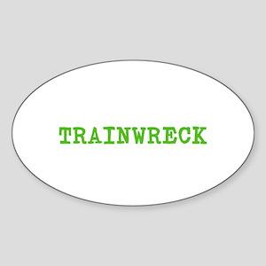 Trainwreck Sticker