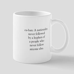 Cuban Definition Mug