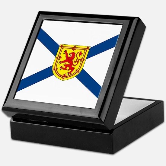 Nova Scotia Flag Keepsake Box