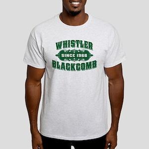 Whistler Blackcomb Old Green Light T-Shirt