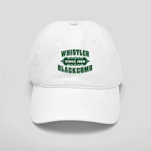 Whistler Blackcomb Old Green Cap