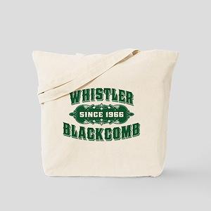 Whistler Blackcomb Old Green Tote Bag