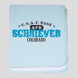 Schriever Air Force Base baby blanket