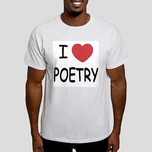 I heart poetry Light T-Shirt