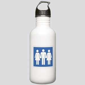 3Way Stainless Water Bottle 1.0L