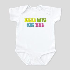 Make Love Not War Infant Creeper
