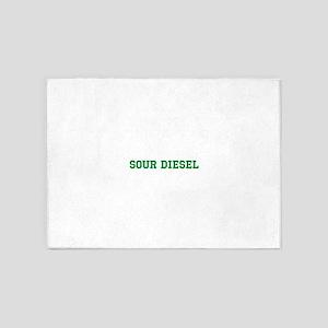 Sour Diesel 5'x7'Area Rug