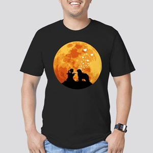 Bergamasco Sheepdog Men's Fitted T-Shirt (dark)