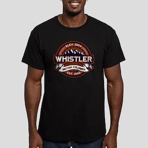 Whistler Vibrant Men's Fitted T-Shirt (dark)