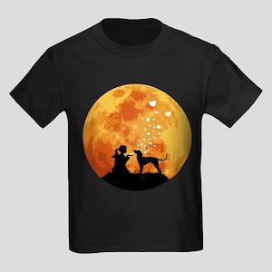 Bluetick Coonhound Kids Dark T-Shirt
